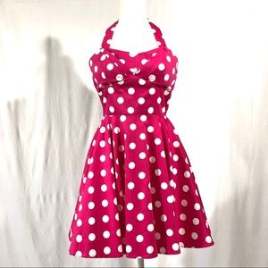IXIA/ModCloth Polka Dot Traveling Cupcake Dress